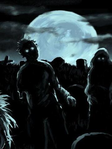 Zombie creeps