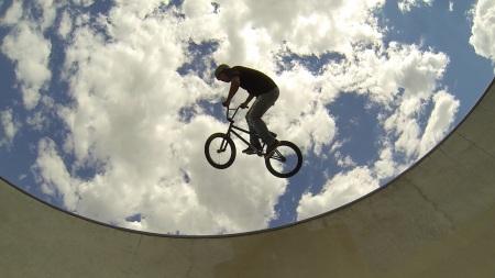 Local Flagstaff bike hero, rips up Bike Park. Flagstylin' in Arizona