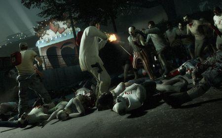 Zombie gunfight