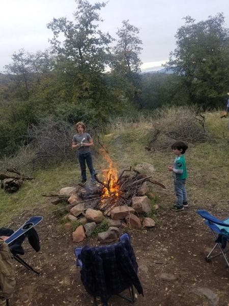 Kids fire