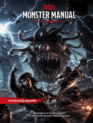 The Dungeons and Dragons, 5th Edition Monster Manual